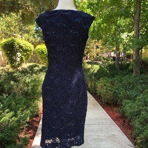 Lauren Ralph Lauren Dresses - Lauren Ralf Lauren Lace Sequined Party Dress 4